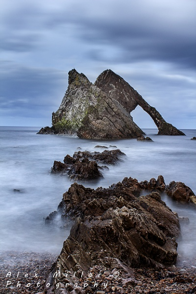 Bowfiddle Rock by morayphotography
