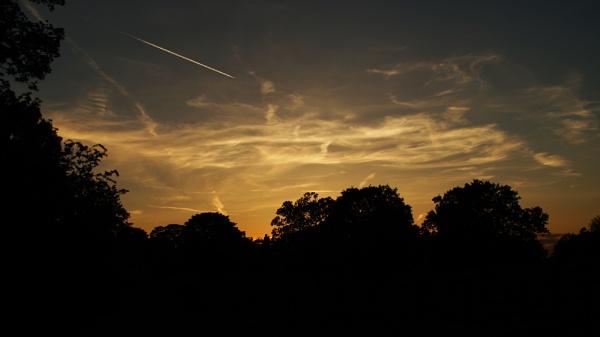 Hardwick sunset by Dalejackson
