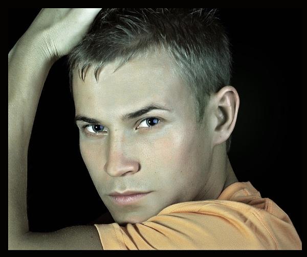 Male portrait by mex
