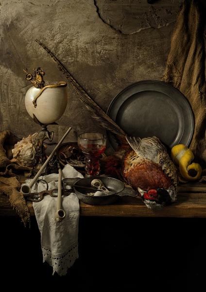 Still Life with Pheasant by GARYHICKIN