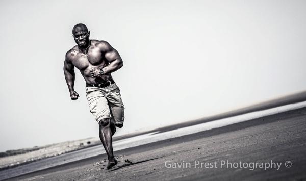 Muscle beach by Gp350