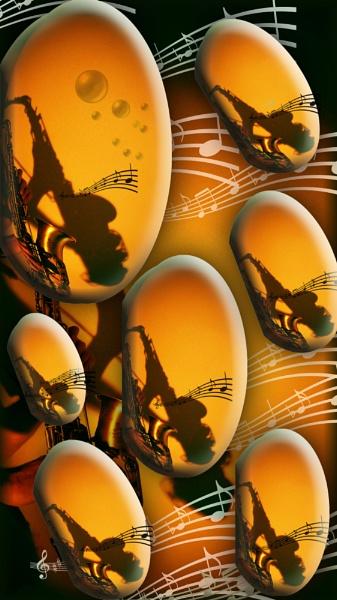 Shadow sax by Chrisjaz