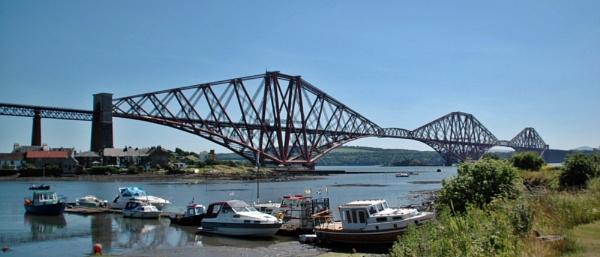 The Forth Rail Bridge by richardCJ