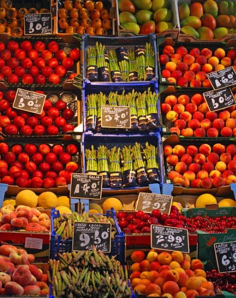 Fruit Stall,Oxford by desborokev
