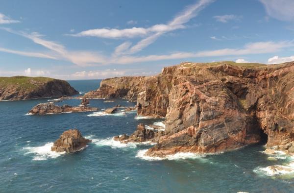 Mangerstadh Sea Cliffs (Isle of Lewis) by hermless