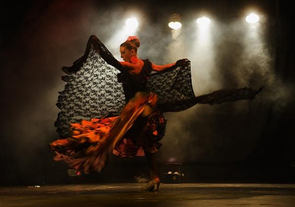 flamenco shawl by martyn_b