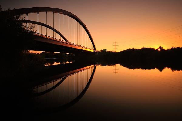 Toomebridge Reflections by GarethRobinson