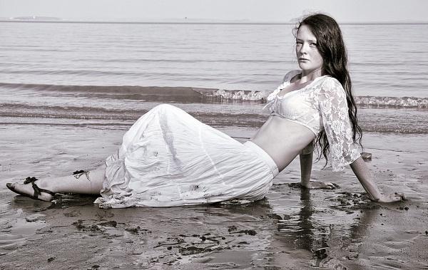 Derryn on the beach by Syren