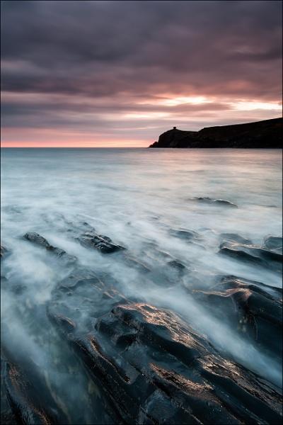 Abereiddy Rocks by colin63