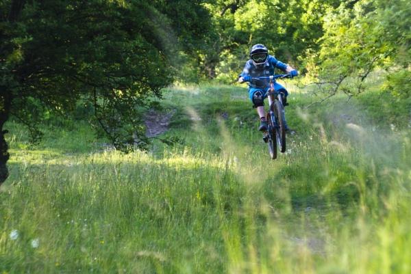 Biking by george-sewell