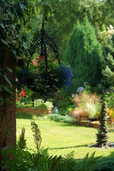 Garden view by dudler
