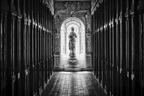 St Ursula in the glow by mlseawell