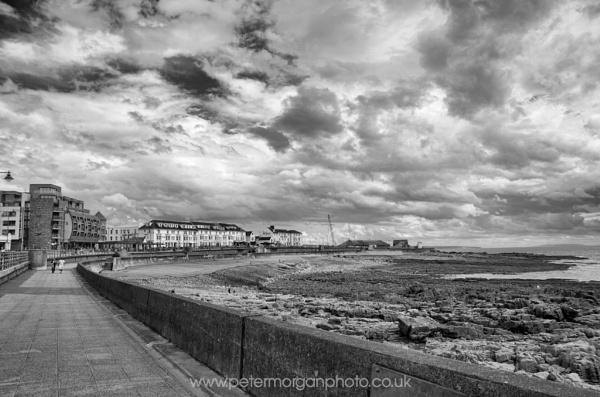 Esplanade before a storm by P_Morgan