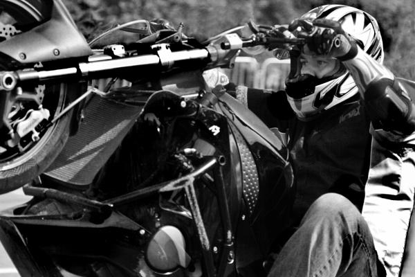 Stunt rider by djdave