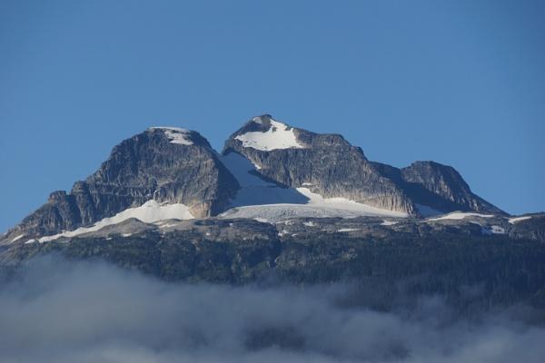 Mount Begbie Glacier Greets the Dawn by Polycarp