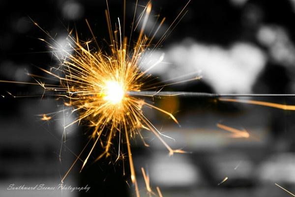 Color splash Sparks by shutterbug8156