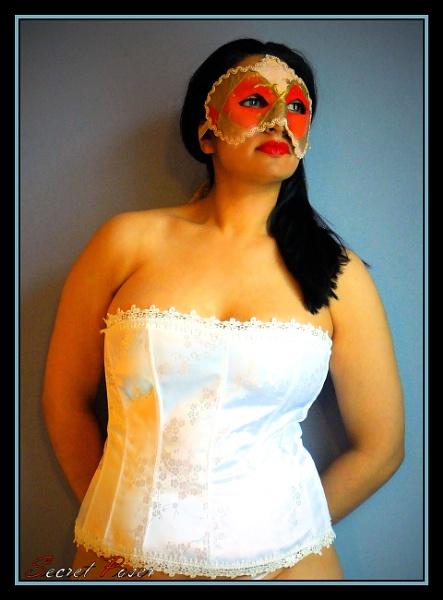 Harlequin Mask 1 by Terces_Resop