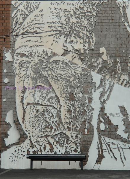 Wall Art, The Rocks Sydney Australia by cazozphul