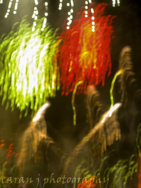 hogmanay fireworks at edinburgh castle by caranjphotography