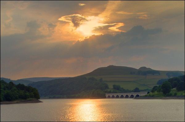 Ashopton at sunset by ziggy