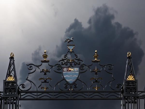 Gate view by xwang