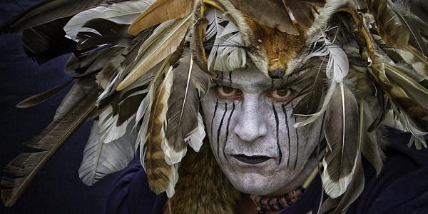 Indian Warrior by Dixxipix