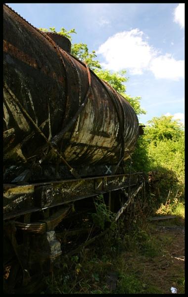 Rusty Tanker by Bufpuf2009