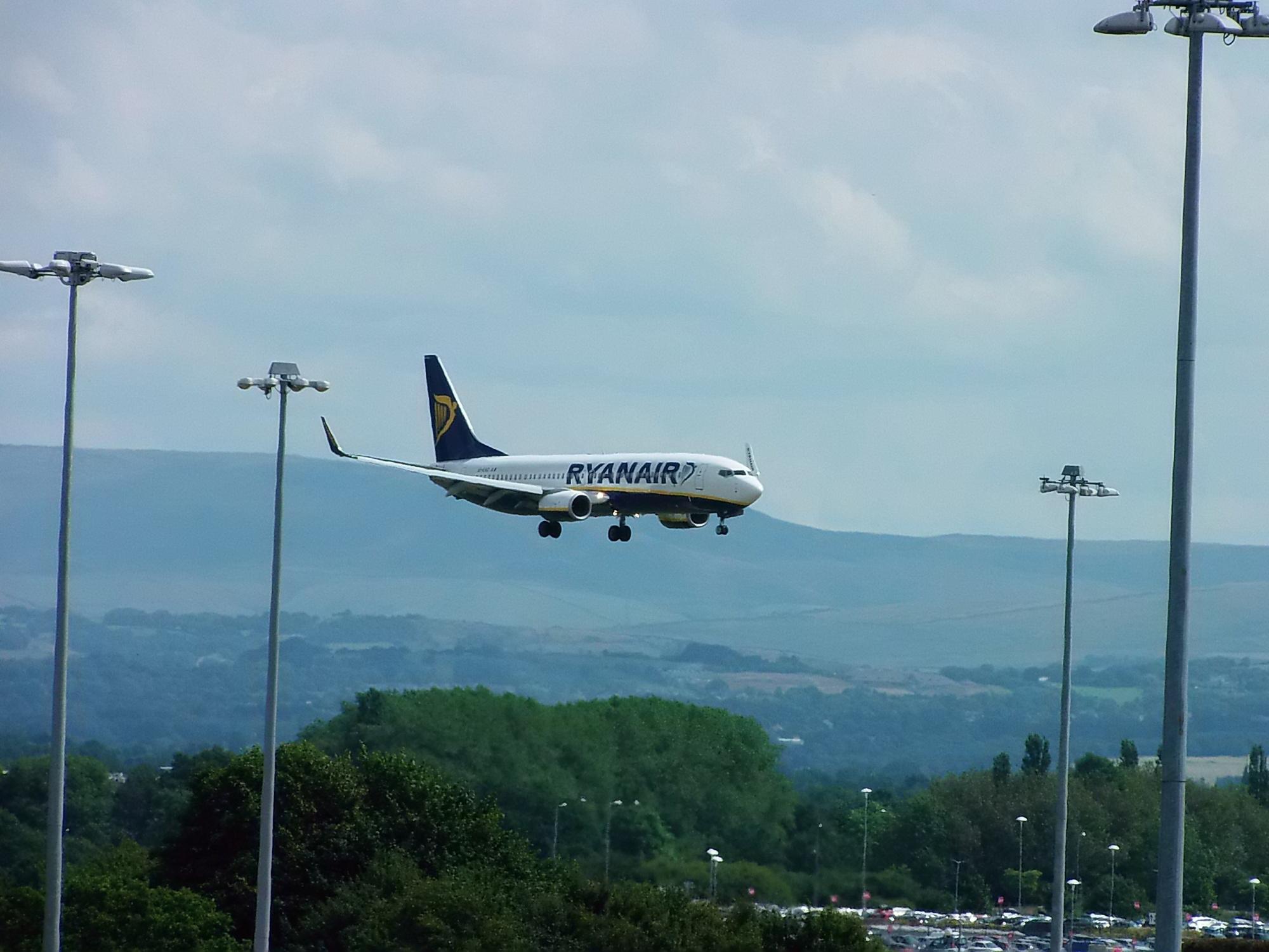 MIA - Ryanair Landing