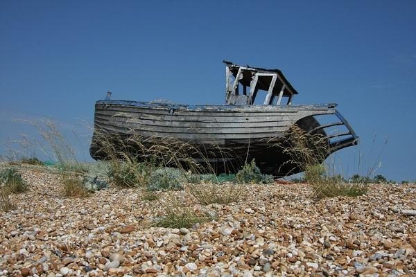 Beached Boat by kentbirder
