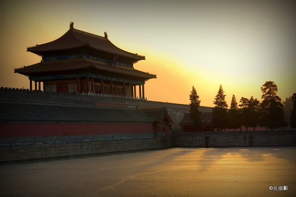 North Gate Forbidden City by Benlib