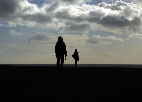 West Beach Shadows by Hamlin