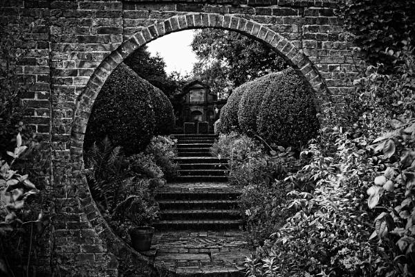 West Green House Garden by gaborfoto