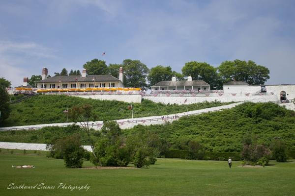 Fort Mackinac by shutterbug8156