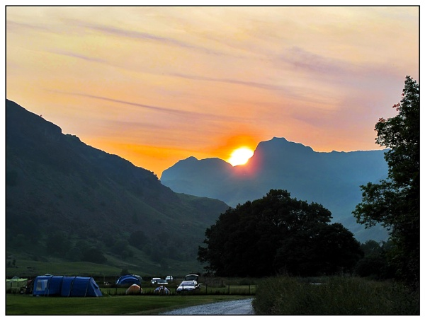 Langdale Sunset by Sylviwhalley