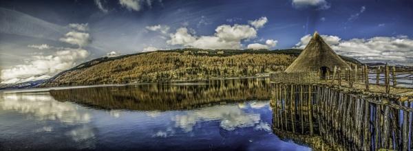 Crannog, kenmore Scotland by WalidD300