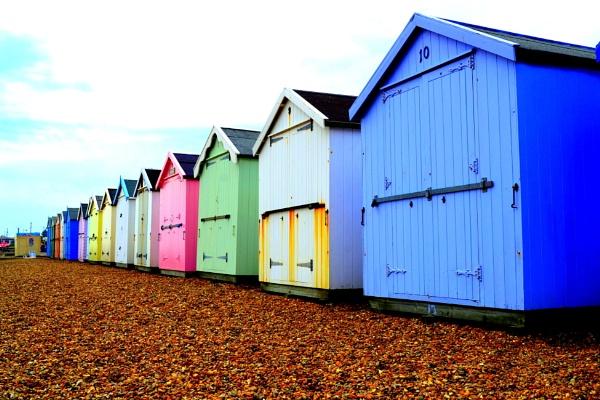 Beach Huts by cathsnap