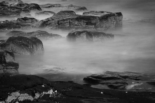 Dunstanbrough Beach by Juditha