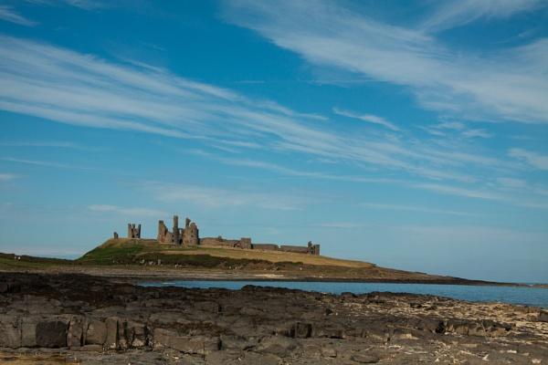Dunstanburgh Castle by Juditha