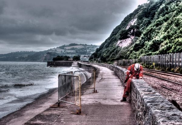 Teignmouth Lineman by Hamlin