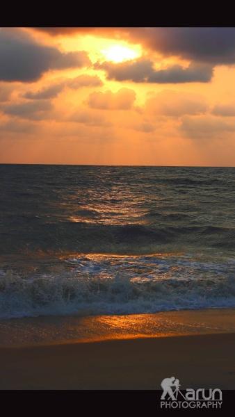 sunset by Arunpurushotham