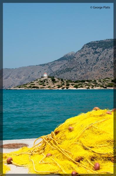 Aegean Scenery by GeorgePlatis