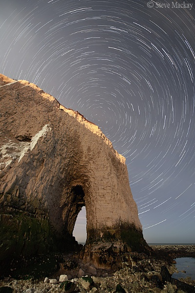 Joss Bay Star Trails by SteveMackay