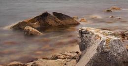 West Shetland seashore