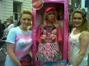 gay pride in dublin a great sunny day my daughter and friend with barbie