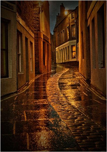 Wet evening in Stromness by MalcolmM