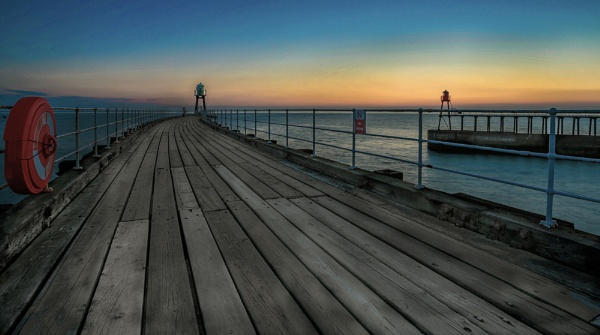 Whitby Sunrise by Briwooly