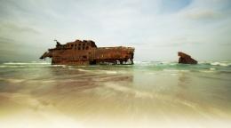 The Wreck of the Santa Maria.