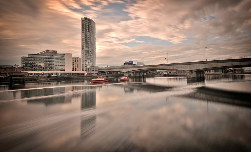Reflections on the Lagan