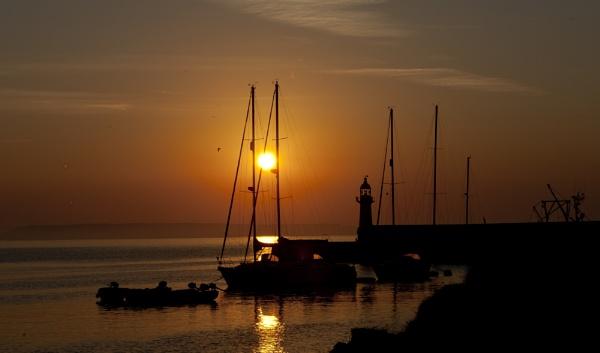 Mevagissey dawn by cornish_chris
