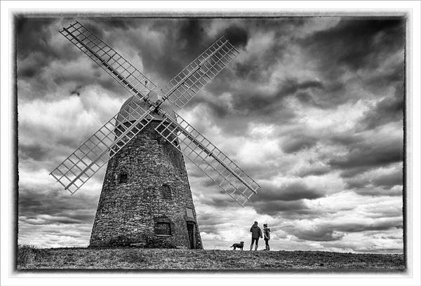 Halnaker Windmill by paddyman